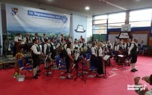 Musikkapelle Buxheim beim Wertungsspiel in Dietmannsried 2017